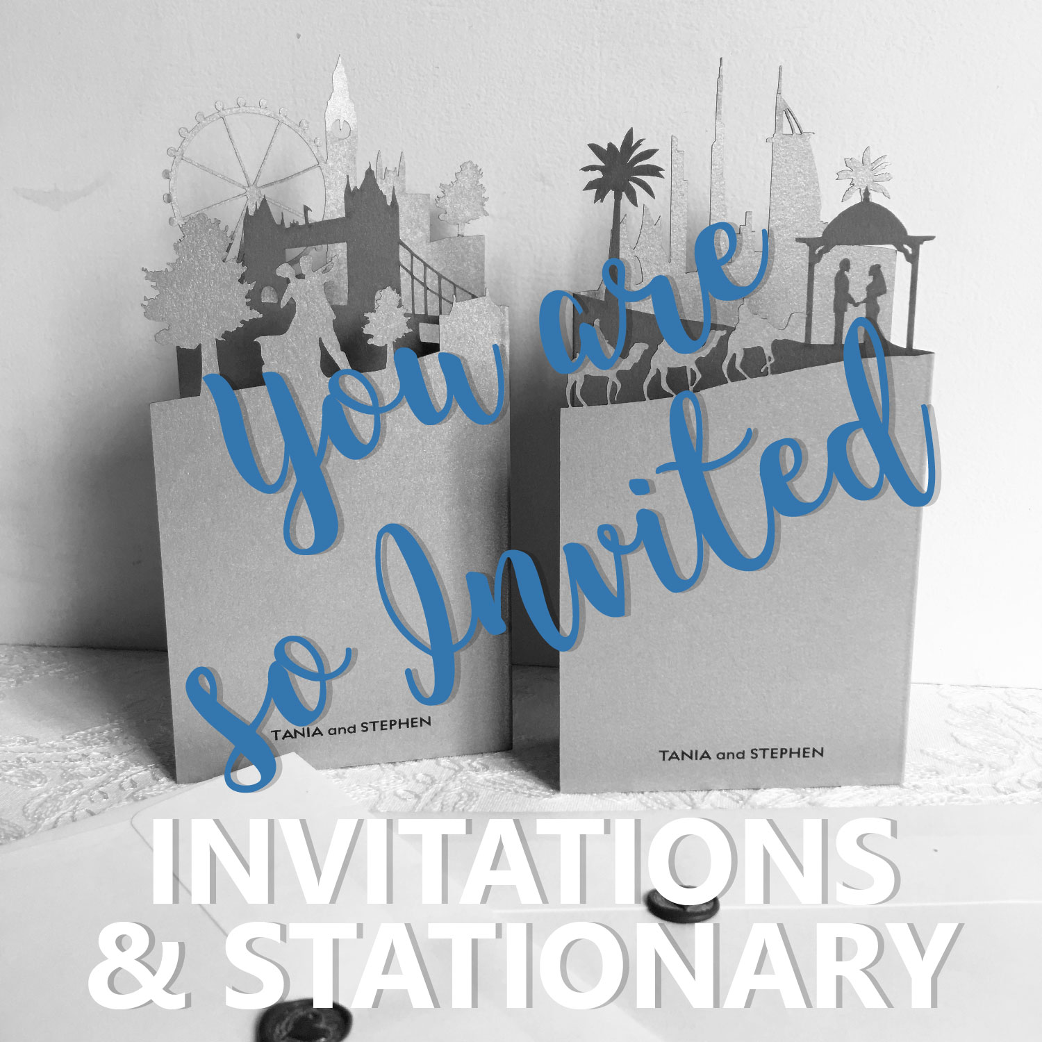 6 INVITATIONS 01 - Invitations & Stationary