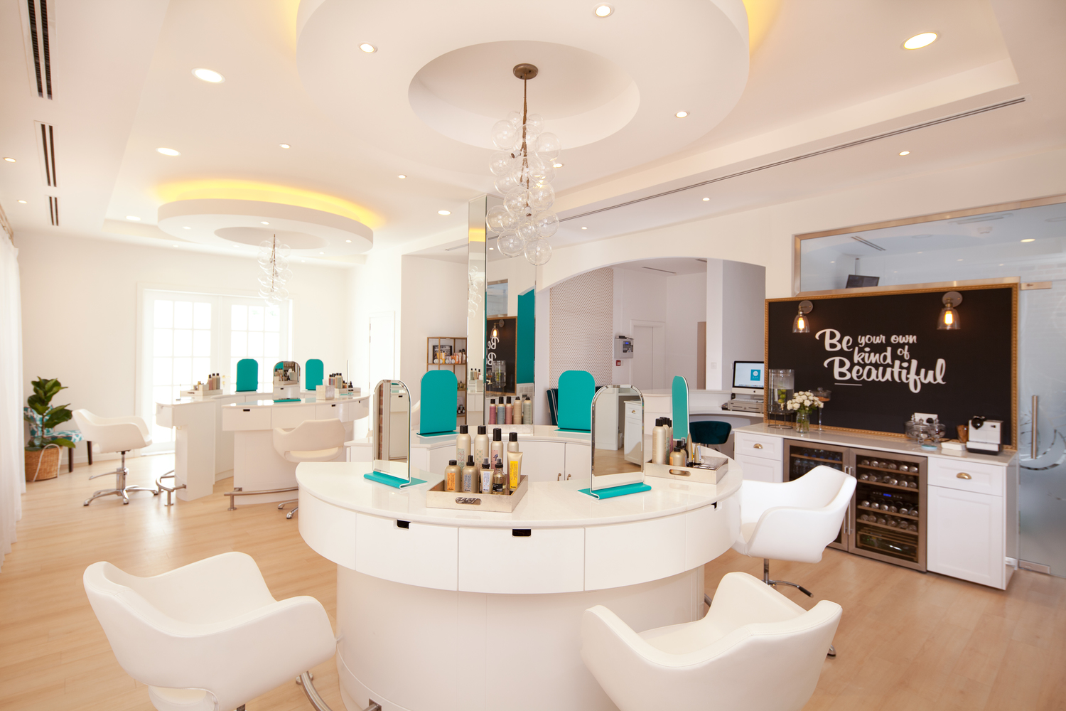 BeBar Interior2 Dubai - Bridal Hair & Makeup