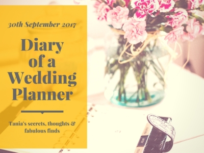 Diary wedding planner 30 September 2017 mydubaiwedding