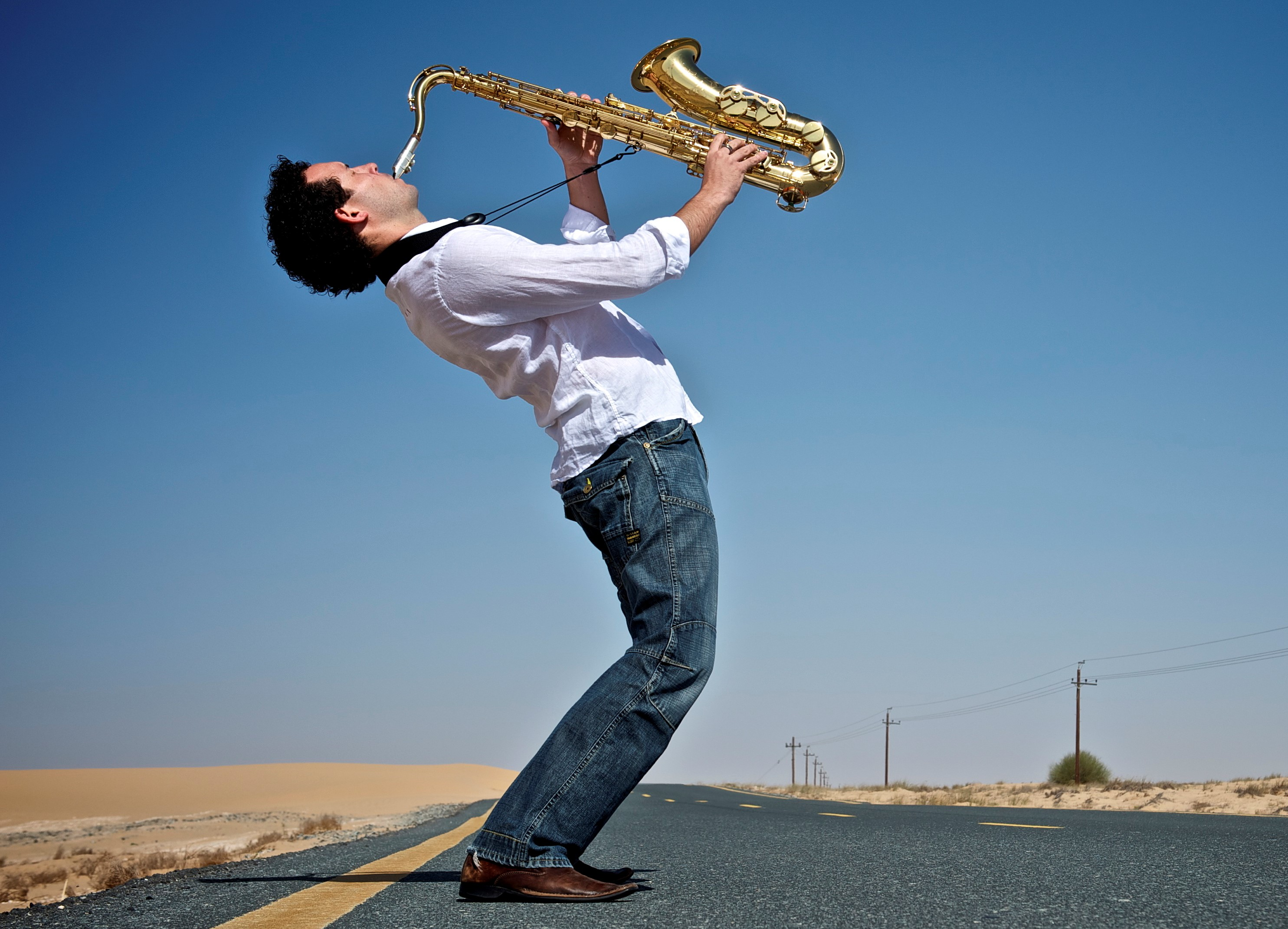 adam long saxophonist dubai sole agency 1 - Music & Entertainment