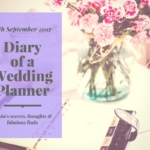 diary of a wedding planner 15th September 2017